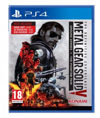 Metal Gear Solid V The Definitive Experience Jaquette Playstation 4