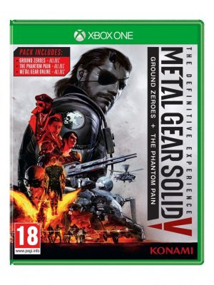 Metal Gear Solid V The Definitive Experience Jaquette Xbox One