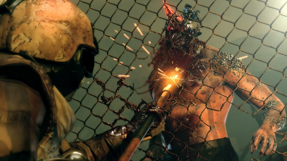 Metal Gear Survive zombie