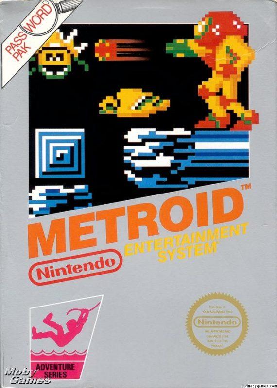 Metroid boîte NES