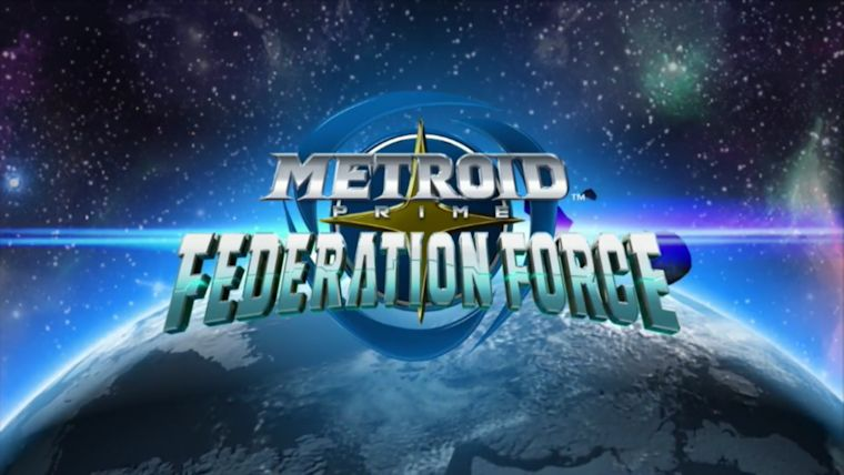 Metroid Prime Federation Force logo