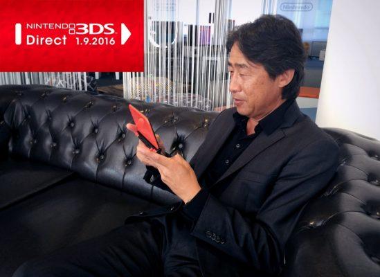 Nintendo Direct 1er septembre 2016