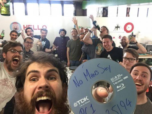 No Man's Sky annoncé Gold
