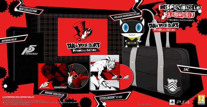 Persona 5 édition Collector « Take your Heart »