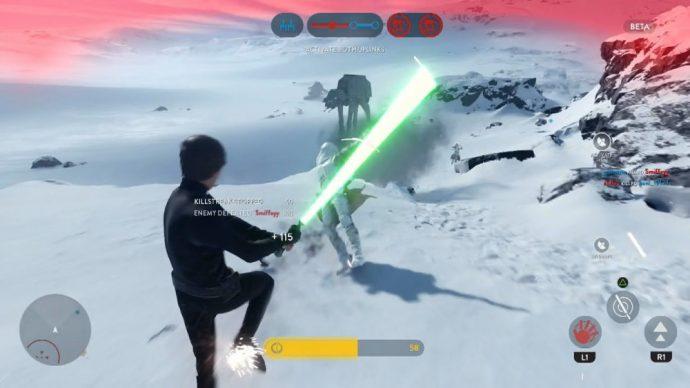 Luke en action