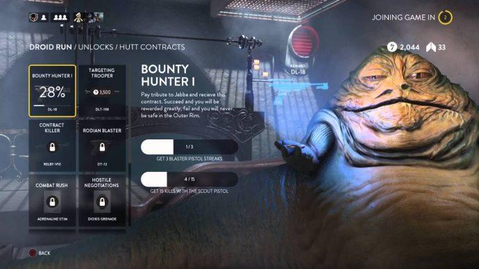 Star Wars Battlefront Jabba