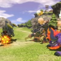 Les combats de World of Final Fantasy