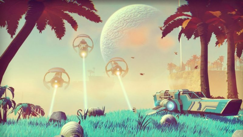 Mise à jour PlayStation Store - No Man's Sky