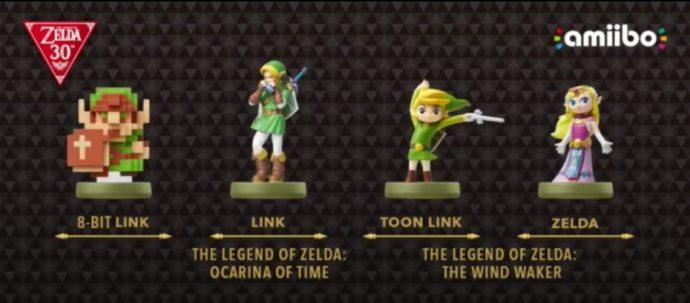 Amiibo Zelda Anniversaire