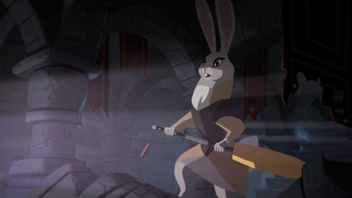 Ambre du clan des lapins