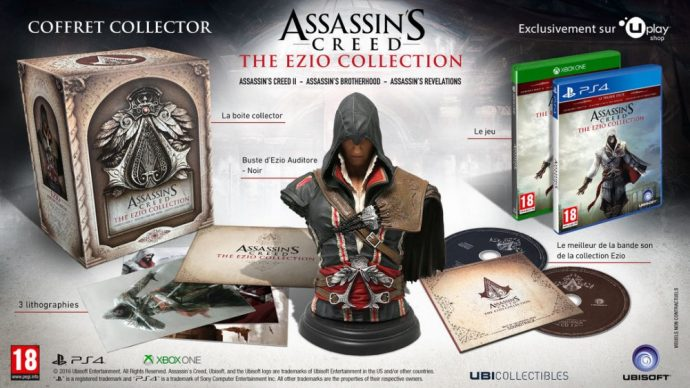 Assassin's Creed The Ezio Collection - Collector's Case
