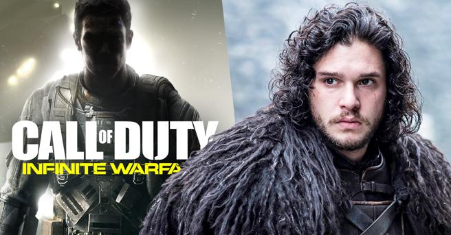 Call of Duty : Infinite Warfare Kit Harington