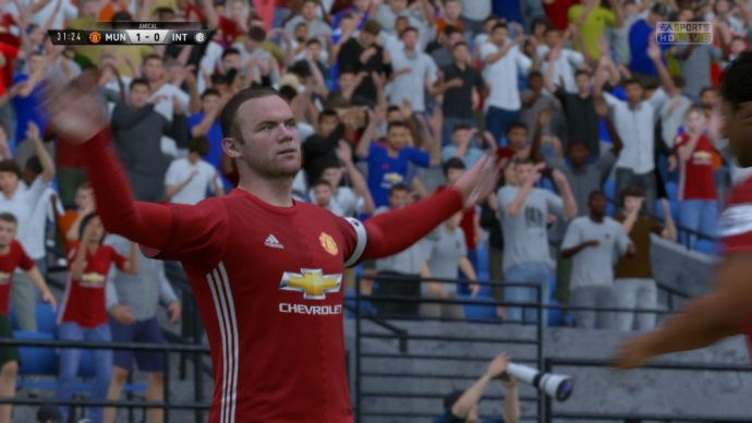 Wayne Rooney dans FIFA 17