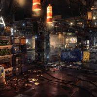Deus Ex univers cyberpunk