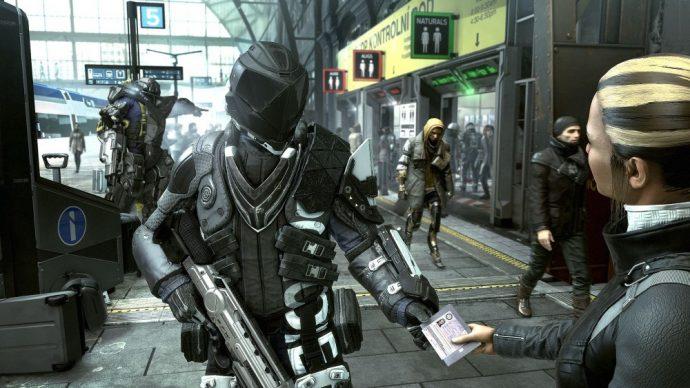 Deus Ex Prague contrôle de papiers