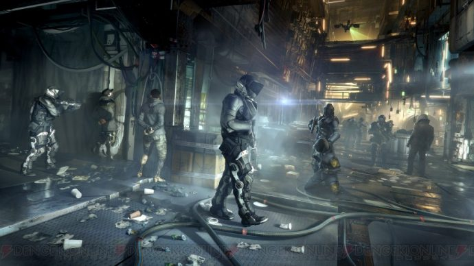 Deus Ex patrouille