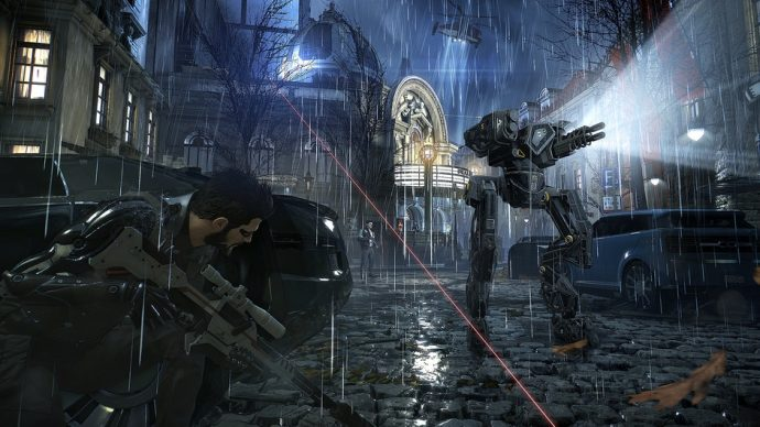 Deus Ex sniper