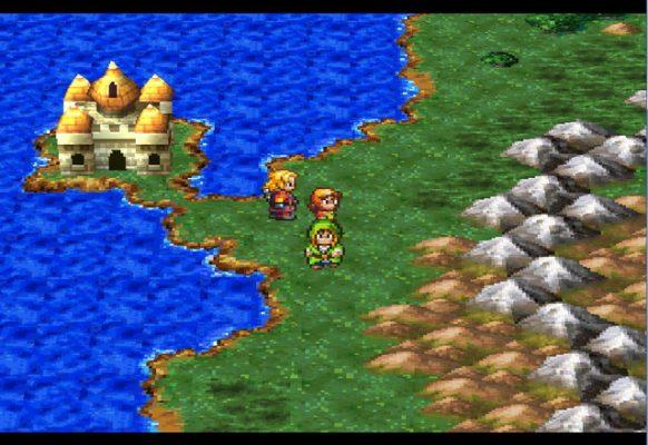 Dragon Quest VII Map PS1
