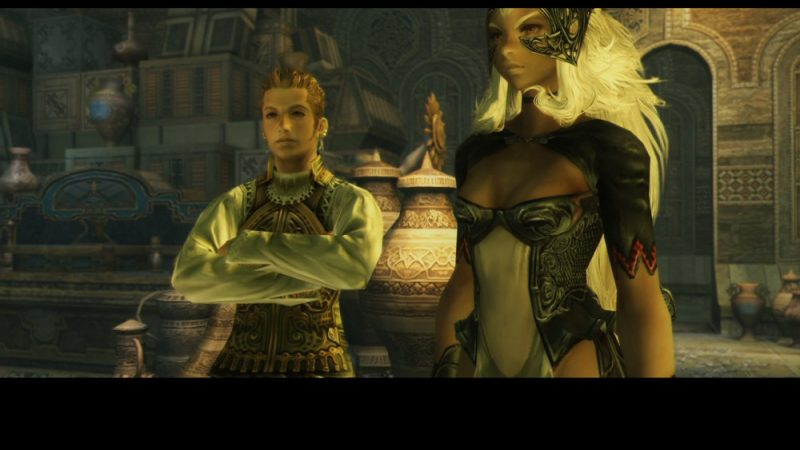 Final Fantasy XII The Zodiac Age Fran et Balthier