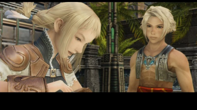 Final Fantasy XII The Zodiac Age Vaan et Penelo