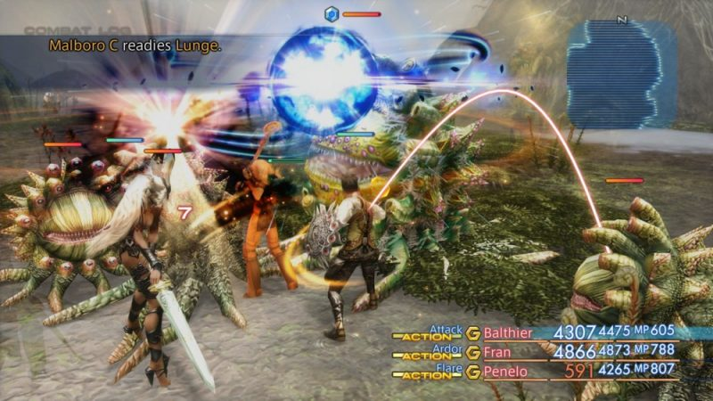 Final Fantasy XII The Zodiac Age Fight