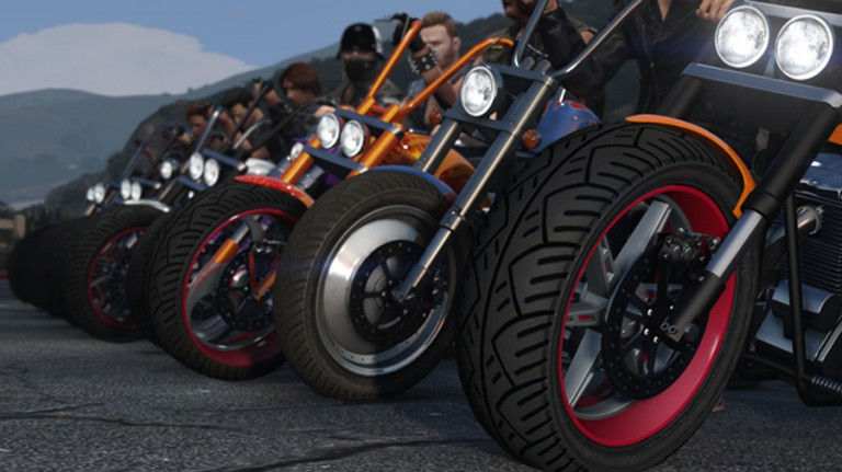 GTA V DLC Motos Boulots Bobos