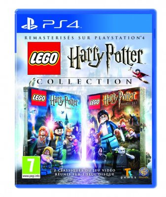 Harry Potter Collection jaquette PS4