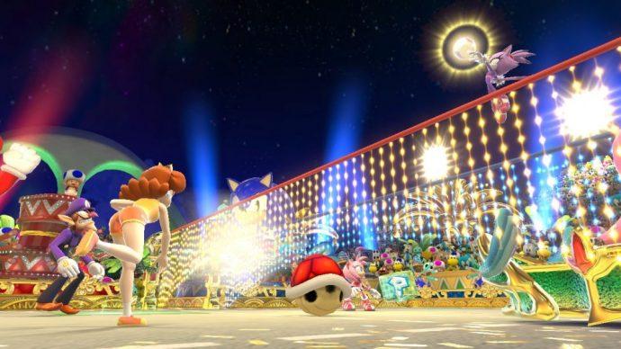 Mario & Sonic aux Jeux Olympiques de Rio 2016 - Volley en duel