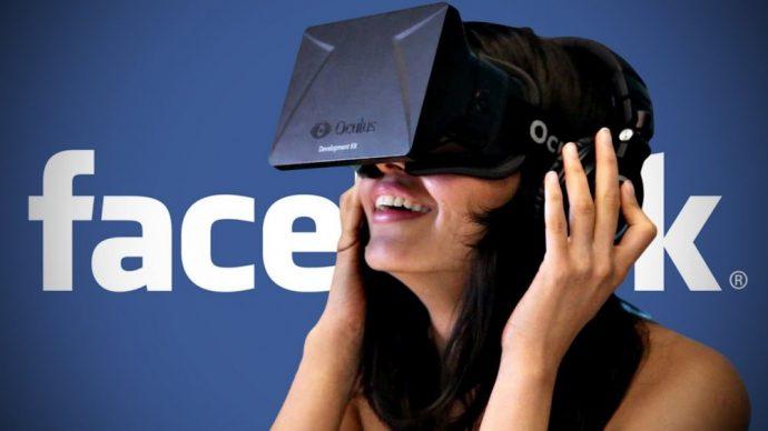 Casque Oculus VR logo Facebook