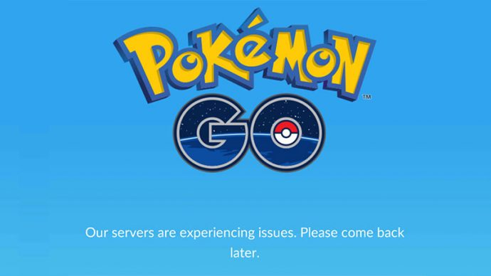 server error Pokémon GO