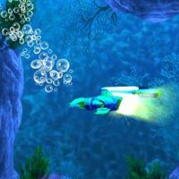 En sous-marin dans Sonic Boom