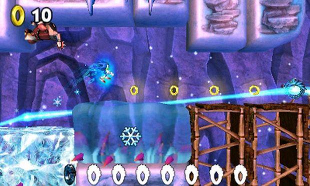 Eau a gongeler dans Sonic Boom