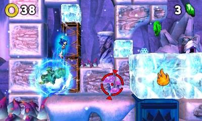 Sonic Boom Le Feu et la Glace niveau glacé