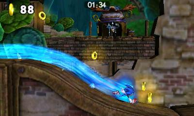 Sonic Boom Le Feu et la Glace Sonic jouable