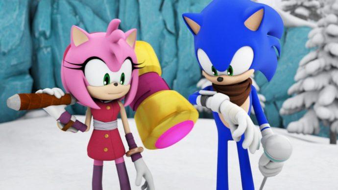 Scène d'intro de Sonic Boom: Le Feu et la Glace