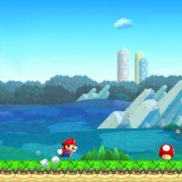 Mario et un champignon