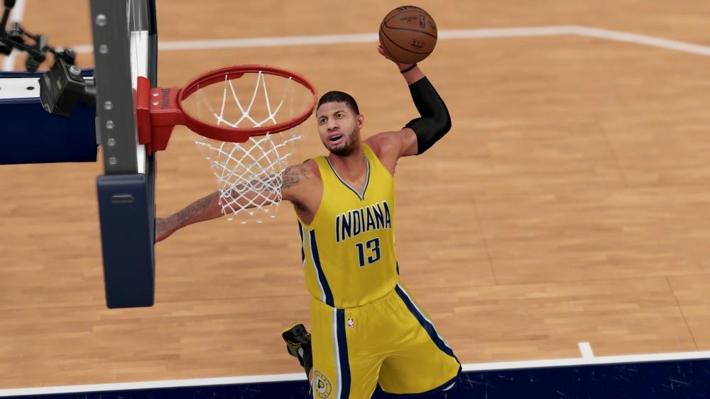 Paul Georges dans NBA 2K17