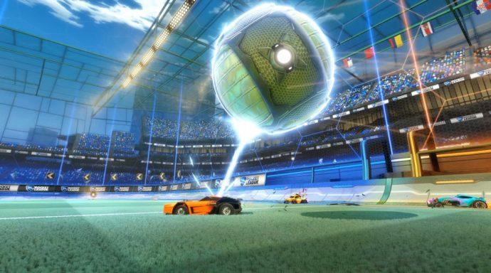 La voiture aimante le ballon avec le Magnetizer