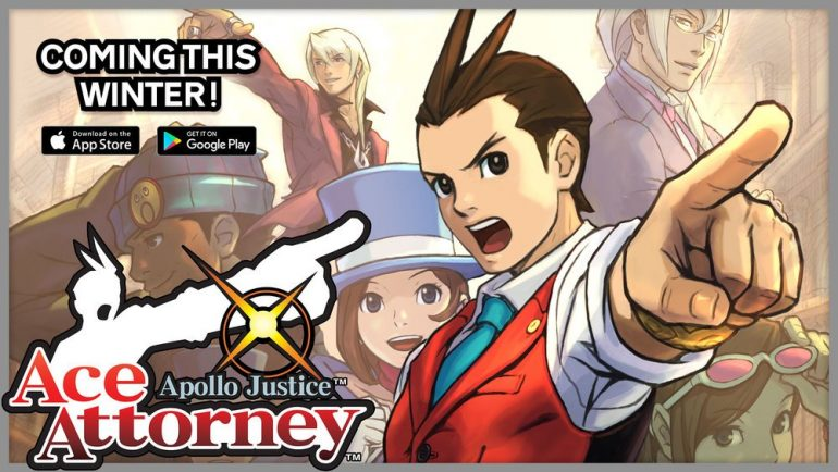 Affiche Apollo Justice iOS android