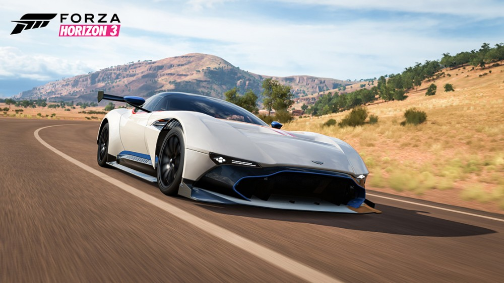 Aston Martin Vulcan Forza Horizon 3 Smoking Tire Car Pack