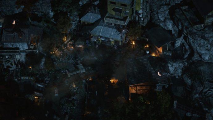 L'attaque du village ne laissera que peu de survivants