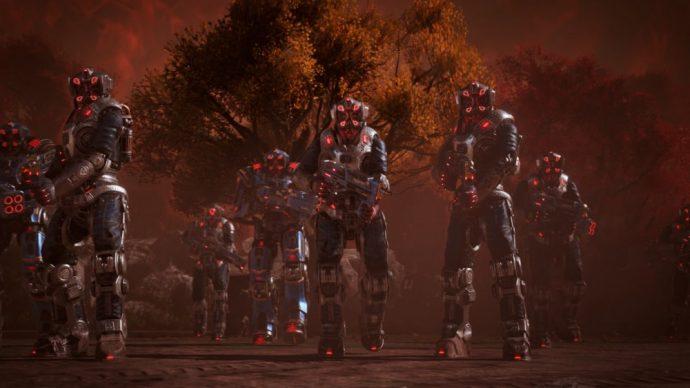 Les Deathbots chercheront à vous tuer par tous les moyens