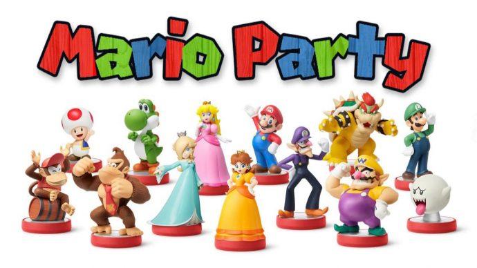 Les Amiibo compatibles avec Mario Party Star Rush