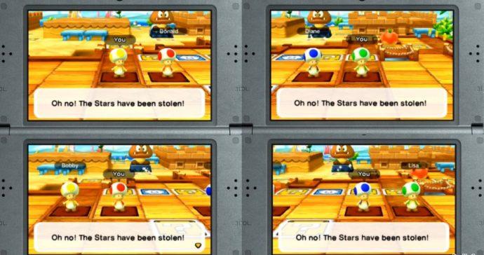 Chaque joueur peut incarner un Toad