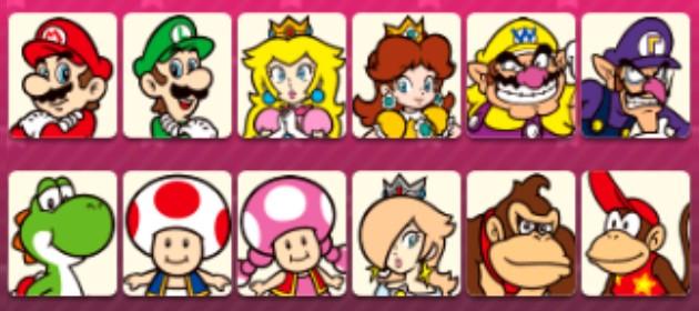 12 des 13 personnages jouables