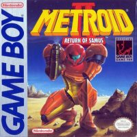 Metroid 2 GameBoy pochette
