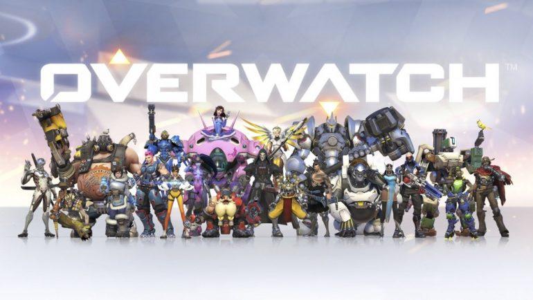 Logo et persos Overwatch