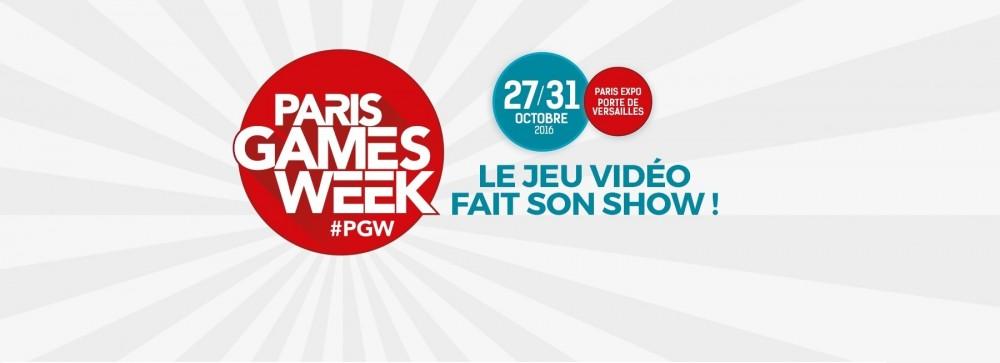 Affiche et date Paris Games Week 2016
