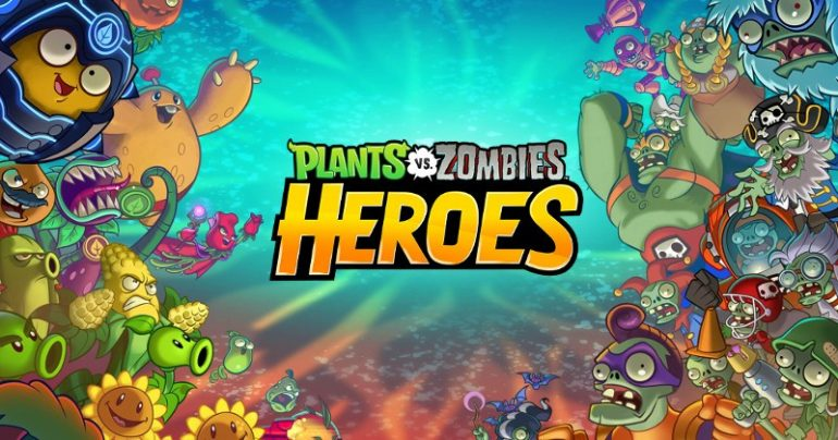 plants vs zombies heroes affiche