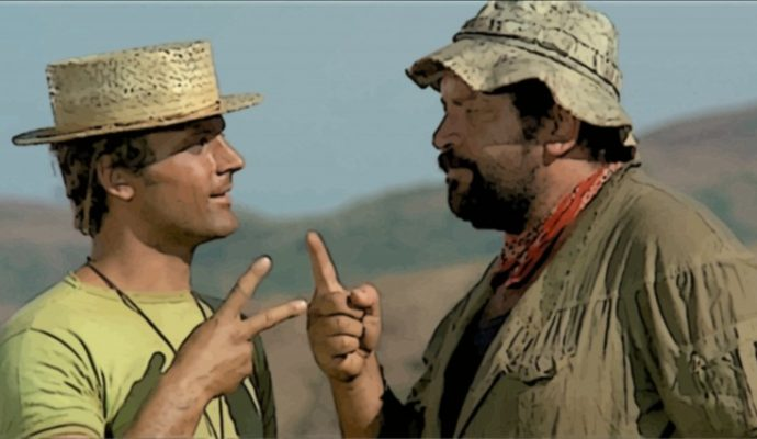Slaps and Beans Terence Hill et Bud Spencer
